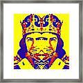 Laurence Olivier Double In Richard IIi Framed Print