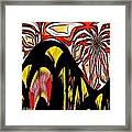 Lava Flow Framed Print