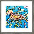 Leafy Sea Dragon Framed Print by Tamara Blyth