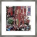 Leaving Fenway Park Framed Print