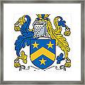 Lecky Coat Of Arms Irish Framed Print