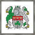 Leech Coat Of Arms Irish Framed Print