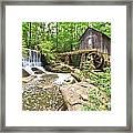 Lefler Grist Mill Framed Print