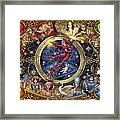 Legacy Of The Divine Tarot Framed Print by Ciro Marchetti