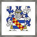 Leigh Coat Of Arms II Bradley Lancashire Framed Print