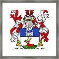 Lenihan Coat Of Arms Irish Framed Print