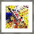 Les Paul Retro Abstract Framed Print