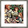 Let The Children Come To Me Framed Print