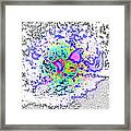 So Let This Stupid Fight Begin, Says The Fantasy Rooster  Framed Print
