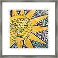 Let Your Light Shine Framed Print by Lauretta Curtis