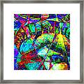 Liberty Head Abstract 20130618 Long Framed Print by Wingsdomain Art and Photography