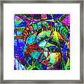 Liberty Head Abstract 20130618 Framed Print