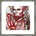 Liberty Red Framed Print