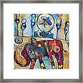Life Is A Circus Framed Print