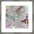 Life 'n Flux Framed Print