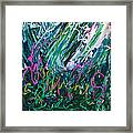 Light Dancing In The Shadows Framed Print