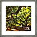 Lighter Version 40x40 Framed Print