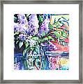 Lilac Light Framed Print