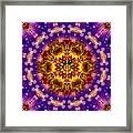 Sacred G Mandala 2 Framed Print