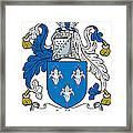 Lillie Coat Of Arms Irish Framed Print
