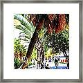 Lincoln Road In Miami Beach Framed Print