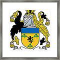 Lincolne Coat Of Arms Irish Framed Print