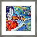 Lindsey Stirling Magic Framed Print