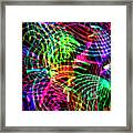 Line Motion Framed Print