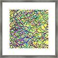 Lines.4 Framed Print