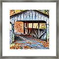 Little Covered Bridge II Framed Print