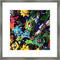 Little Critters Playa Del Carmen Mexico Framed Print