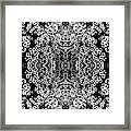Little Flower Kaleidoscope Framed Print