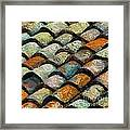 Littoral Roof Tiles Framed Print