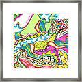 Ioli - Lizard Framed Print