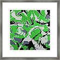 Lime Verve Framed Print