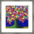 Lollipop Tree 2 Framed Print