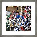 London Scooters Framed Print