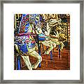 Dancing Horses Framed Print