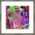 Lost In Abstract Space 20130611 Long Version Framed Print
