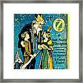 Lost King Of Oz Framed Print