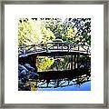 Lost Lagoon Bridge Framed Print