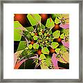 Loud Bouquet Framed Print