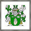 Loughnan Coat Of Arms Irish Framed Print