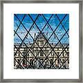 Louvre Museum In Paris Framed Print
