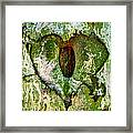 Love Is Framed Print