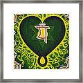 Love Is Spiritual Heart Chakra Framed Print