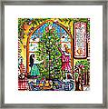 Love Is What Happens At Christmas Framed Print