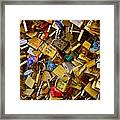 Love Locks Eternal Framed Print