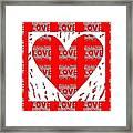 Love On Love Framed Print