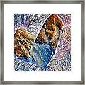 Love Stone Framed Print